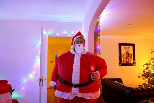 Santa dropped by