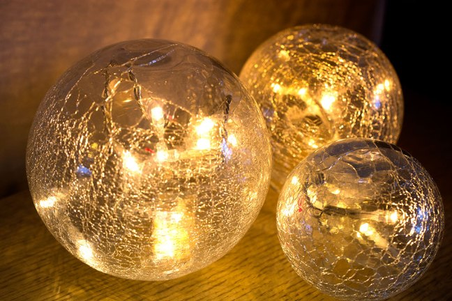 I got these frosted globes from Amazon.