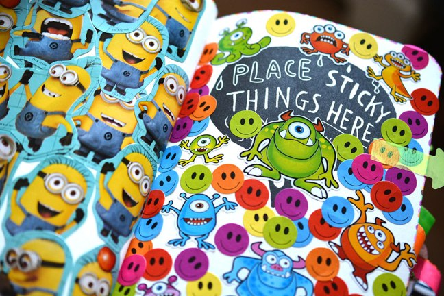 Place sticky things here